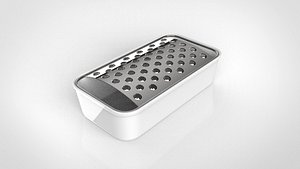 grater tray 3D model