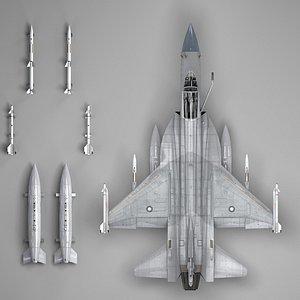pakistan jf-17 3D model