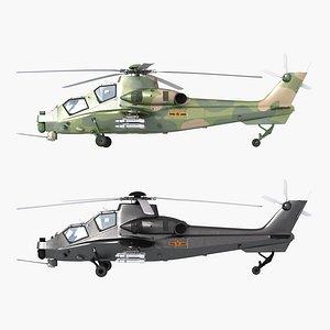 3D wz-10 z-10 model