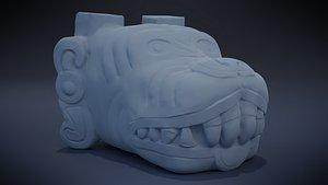 3D Xolotl - Aztec Deity