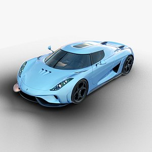 koenigsegg regera car 3D model