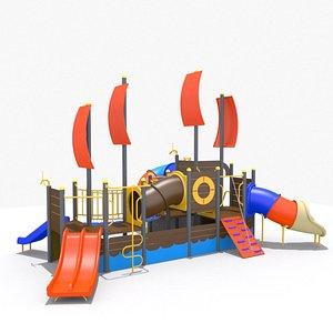 Playground - Ship Playset 3D model