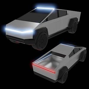 3D car vehicle