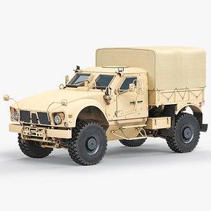 3D model JLTV Oshkosh Troop Carrier