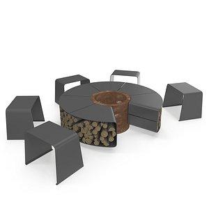 3D outdoor model