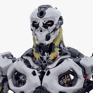 3D character robot
