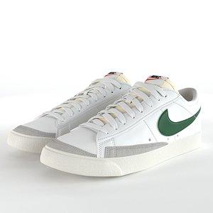3D Nike Blazer Low 77 Vintage PBR model
