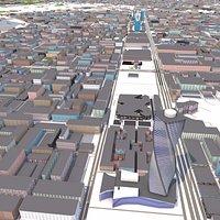 Riyadh City Sep 2021 3d model
