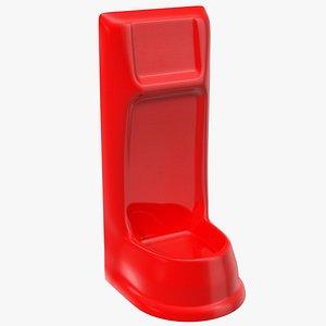 single extinguisher fiberglass stand model