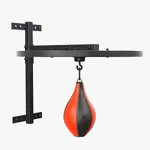 3D model punch bag bracket