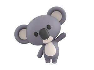 Character139 Rigged Koala 3D