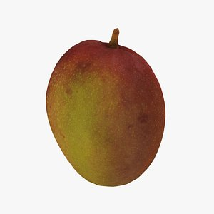 Tommy Atkins Mango - Real-Time 3D Scanned 3D model