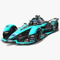 Jaguar Racing I-Type 5 Formula E Team Season 2020 2021 Race Car