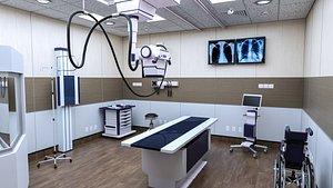 Doctors Office-Radiology-Xray Room 3D model