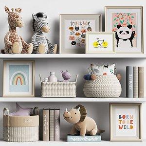 decor nursery toys 3D model