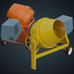 3D Concrete Mixer 2A