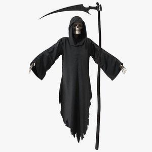 Grim Reaper with Scythe Set model