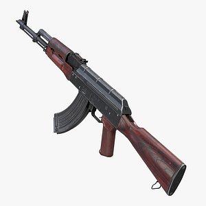 3D Rifle AK-47 AKM