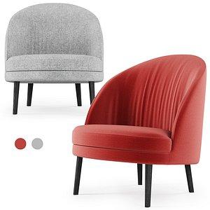 3D model red gray
