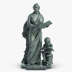 science sculpture arts 1 3D model