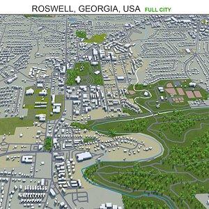 Roswell Georgia USA model
