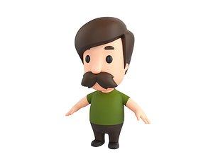 3D little people model