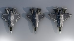 3D F35 Collection model