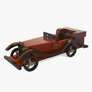 WoodenShowpiececar 3D model