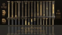 Collection of classical columns