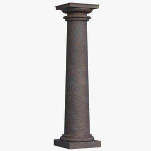 3D tuscan column