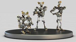 little robot 3D model