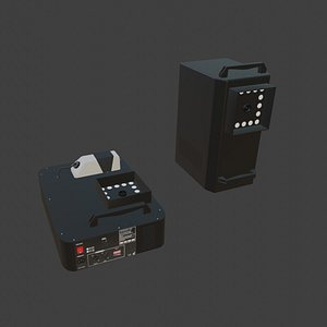 machine smoke 3D model