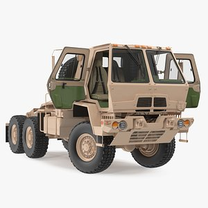 3D model Oshkosh FMTV 5 Ton Tractor Rigged