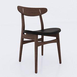 carl hansen chair ch30p 3D model