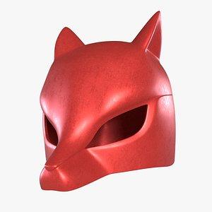 3D model Fox fancy mask
