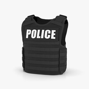 3D Bulletproof Vest