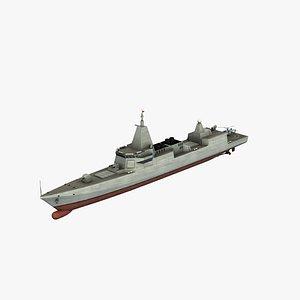Type055 Destroyer 3D model