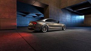 3D interior scene 16 parking garage model