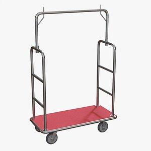 Hotel cart 03 model
