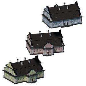 Ukrainian Baroque House I model