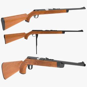 3D model daisy production rifle