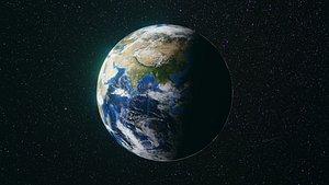 3D Planet earth 4k 3d model for any use model