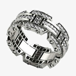 Rockfords Style Mens Ring model