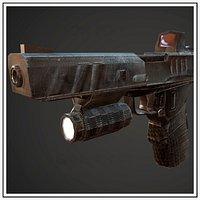 Pistol Handgun automatic Gun