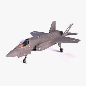 F-35A Fighter model