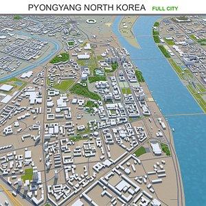 3D Pyongyang North Korea