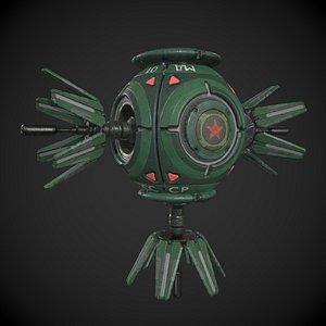 Soviet Space Drone 3D