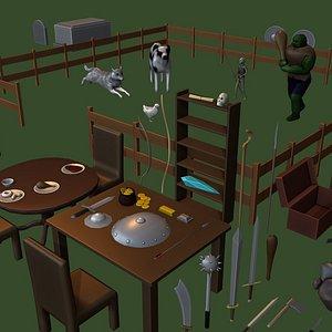 Generic Game Kit 3D model