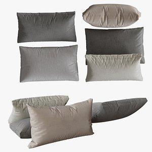 set pillows 3D