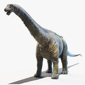 3D apatosaurus